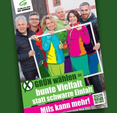 Grün wählen